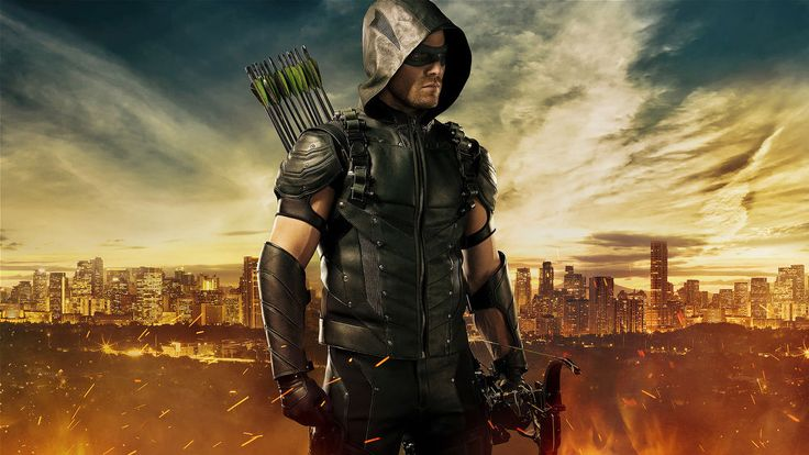 Oliver Queen Cosplay 2015 Stephen Amell New Arrow Green Season 4 Leather Vest . #Skintoll #Motorcycle