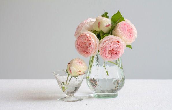 автор: maxima / размер: 4201x2801 / теги: розы, букет, бутоны, вазы