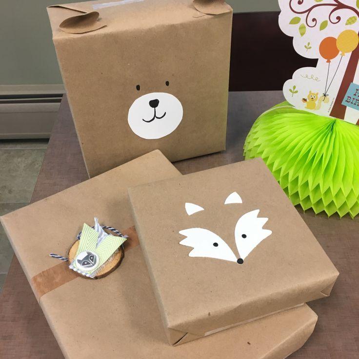 Woodland Animal Gift Wrap – Paper Premise