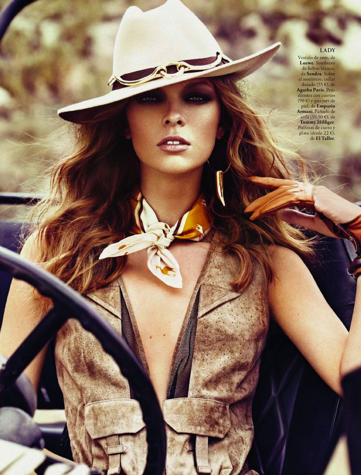 """safari"" lady vs wild: lys inger by xavi gordo for elle spain april 2013 | visual optimism; fashion editorials, shows, campaigns & more!"