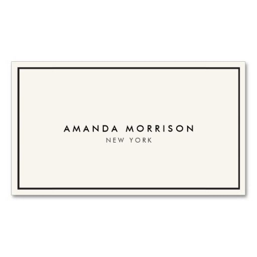 Elegant and Refined Luxury Boutique Business Card Template - ready to personalize