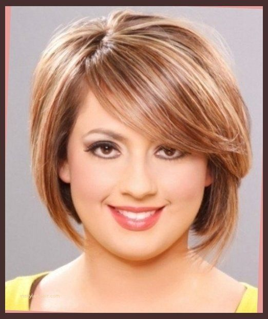haircuts for double chin - Google Search | Short graduated bob | Short hair styles for round ...