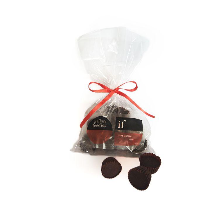 Italian Foodies dark chocolate pralines.