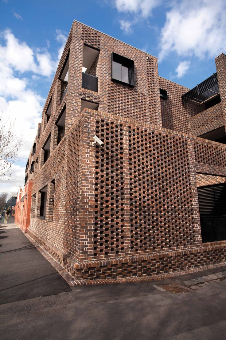 1000 images about perforated brick screen wall on for Perforated brick wall