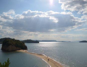 Angel road. Looking for more information about Kagawa? Go Visit Shodoshima Furusato-mura. http://www.shodoshima.jp/