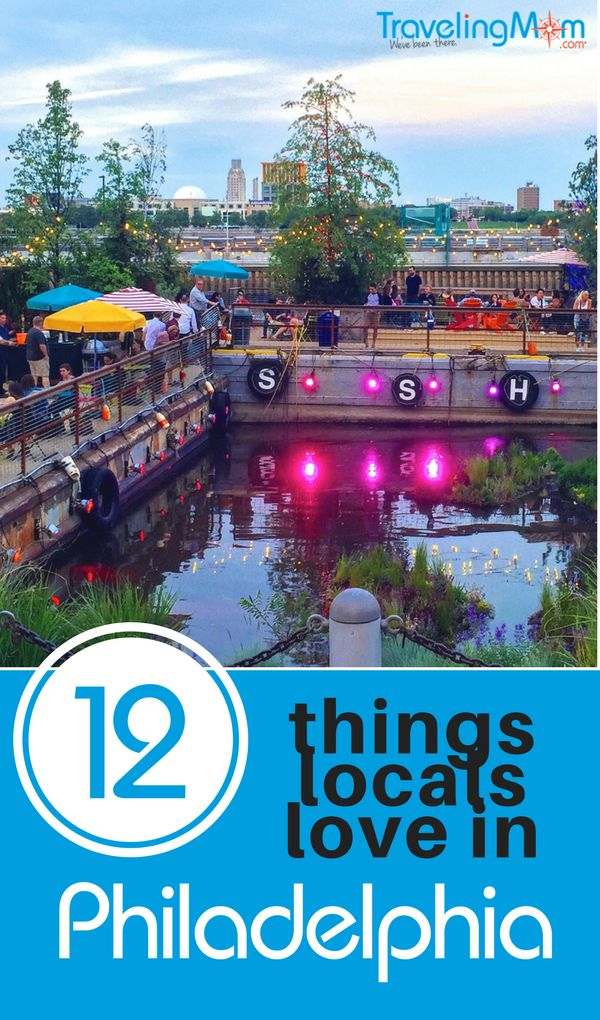 Philadelphia locals know where to find a magical mosaic garden, a giant wooden slide, Amish farm markets, pop-up parks, a Japanese garden & more.