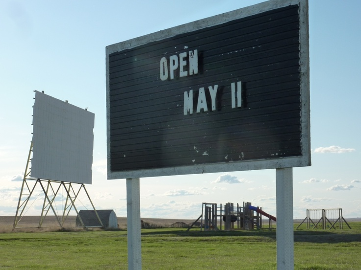 Remember the Drive-In?  There's one in Kyle | Saskatchewan | Canada