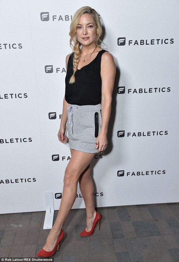 6ae369079d The face of Fabletics: Kate Hudson hosted a charity event by her athletic  apparel line Fabletics in Los Angeles on Thursday #advertising #red #carpet  #looks ...