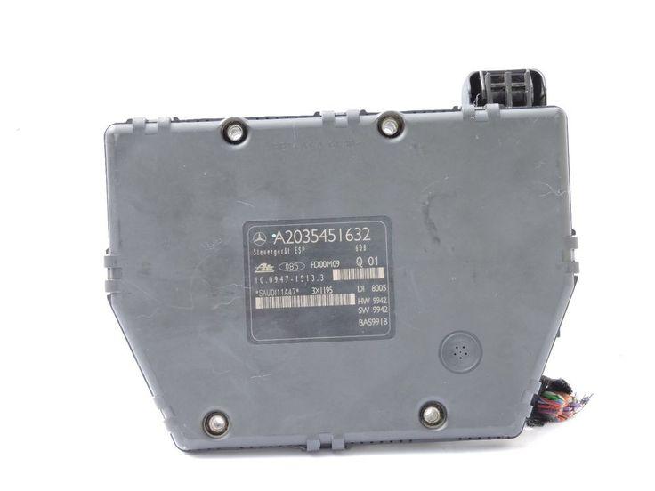 01-02 Mercedes C230 ABS A2035451632 ESP Brake Module Pump C320 C240 W203 Unit #mercedesbenzoemw203c230c240c320