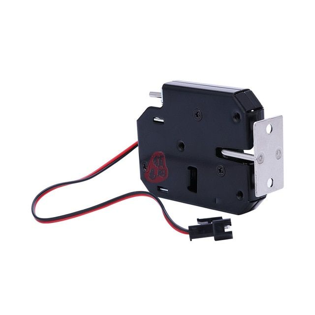 K01 12v Open Frame Type Electronic Door Lock 12v 2a For Cabinet Locks Solenoid Locks Drawer Review Cabinet Locks Door Locks Electronic Door Locks