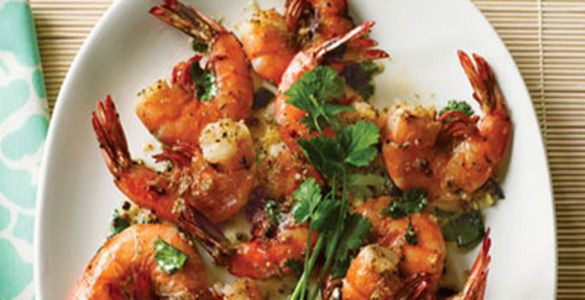 креветки рецепты, креветки жареные
