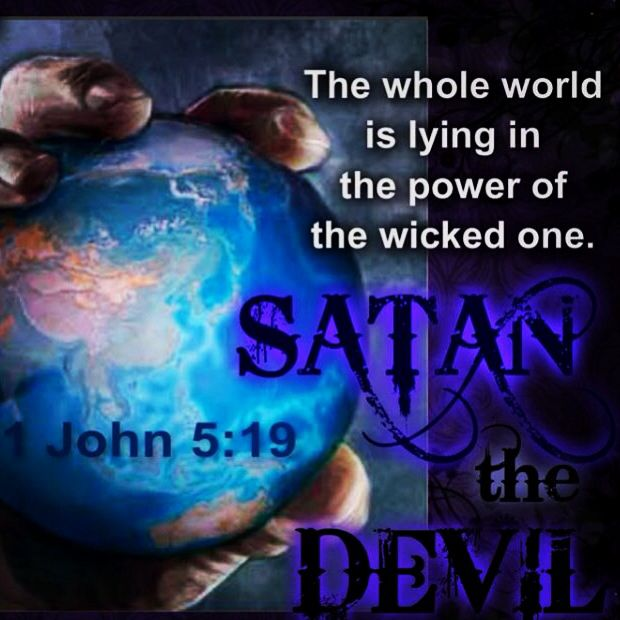 "1 John 5:19 ""We know that we originate with #God, but the whole world is lying in the power of the wicked one."" #bible #jwlibraryapp"
