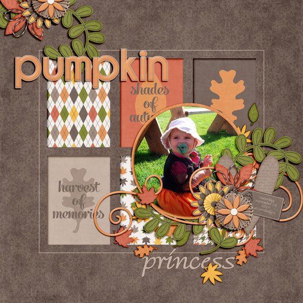 fall scrapbook ideas   fall-themed journal & filler cards