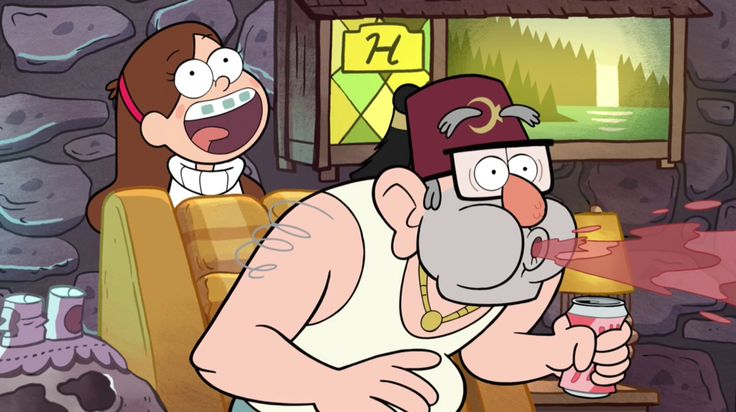 SOMEONE WHO HAS NEVER SEEN GRAVITY FALLS EXPLAIN THIS