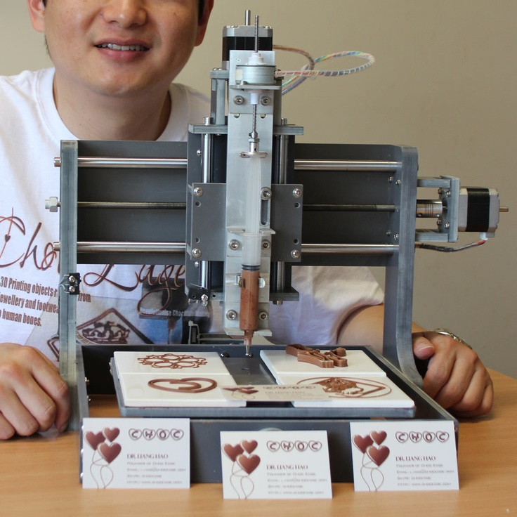 3D Chocolate Printer - the price is not nice, but it is, indeed, awesome.