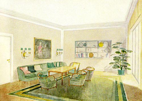 99 best 1930s vintage home decor images on pinterest | 1930s