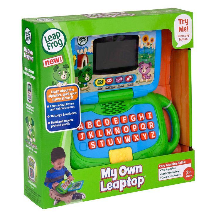 129 best toys for boys images on pinterest christmas 2016 leapfrog my own leaptop leapfrog toys negle Choice Image