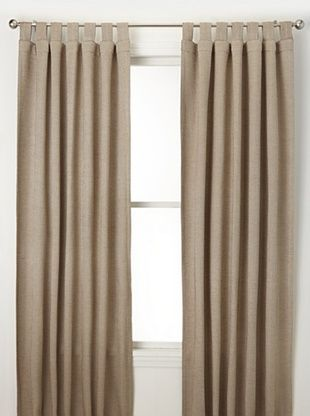 76% OFF Jennifer Taylor Home Collection Set of 2 Shauna Curtain Panels, Camel