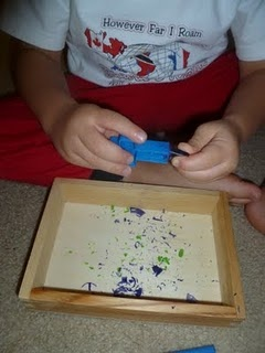"""These activities were to teach hand and eye coordination, fine motor skills and dexterity."""