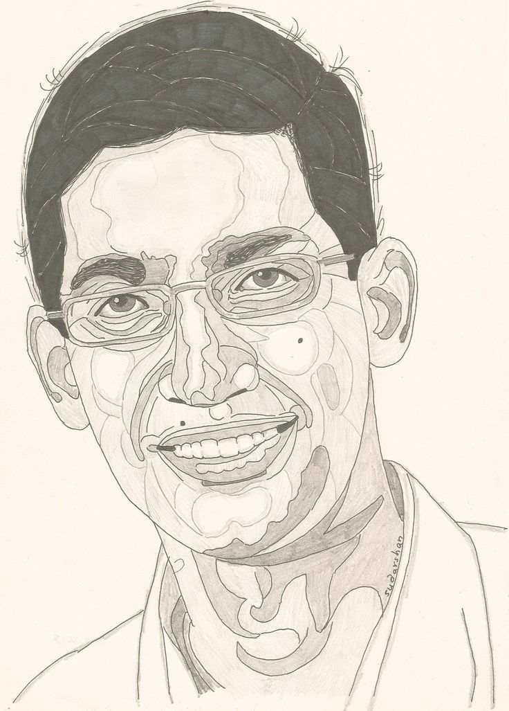GOOGLE CEO..... SUNDAR PICHAI Person sketch, Sketches, Art