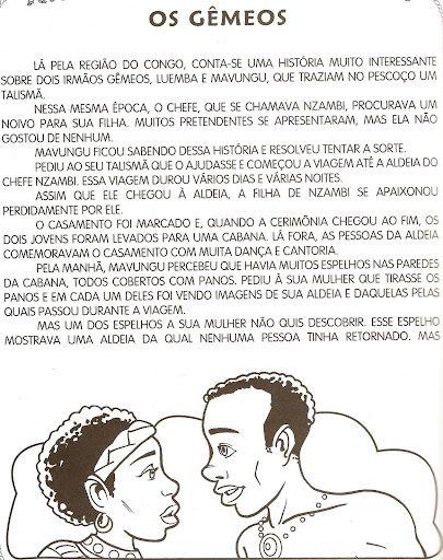 ♥Sugestão De Atividade Escolar♥: Atividades Cultura Afro Brasileira