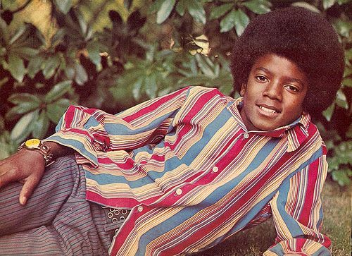 michael jackson  tiger beat    Michael Jackson, pinup in Tiger Beat, 1972 by The Happy Wanderer on ...
