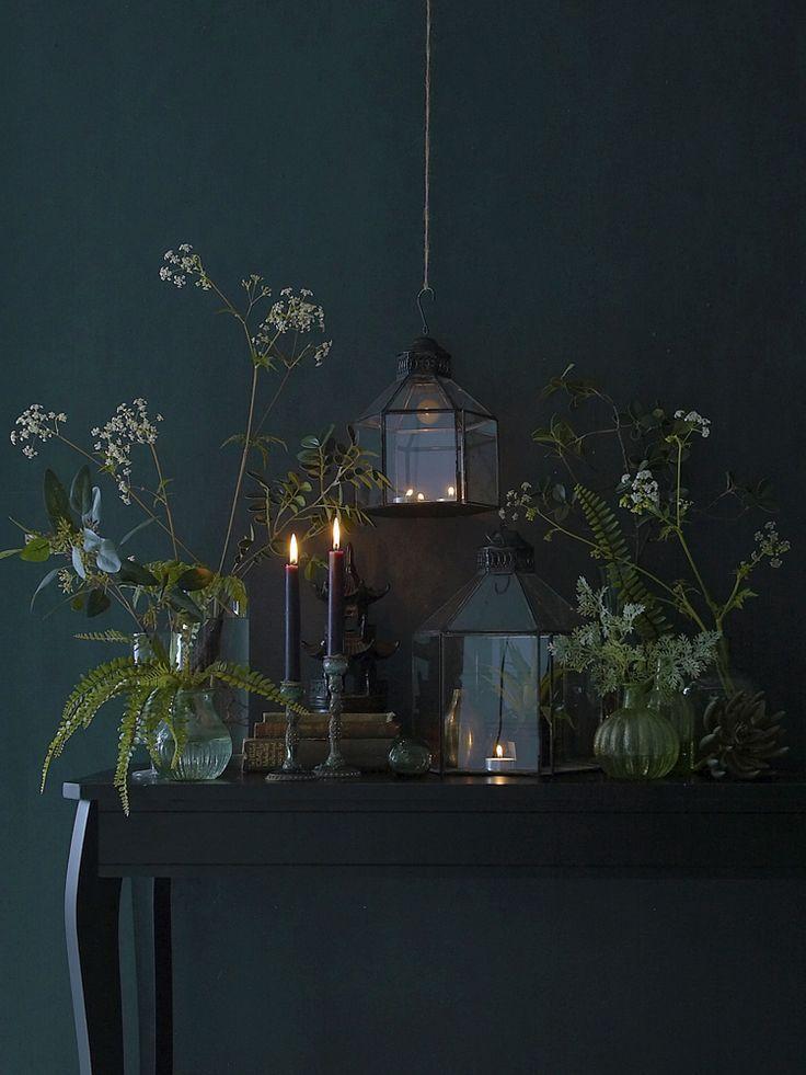 beautiful vintage looking table and display – #Beautiful #bohemian #Display #tab