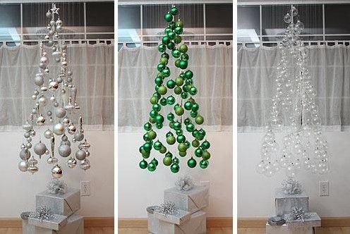 árbol de navidad de esferas