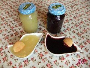 Domácí přesnídávka - jablečná a borůvková
