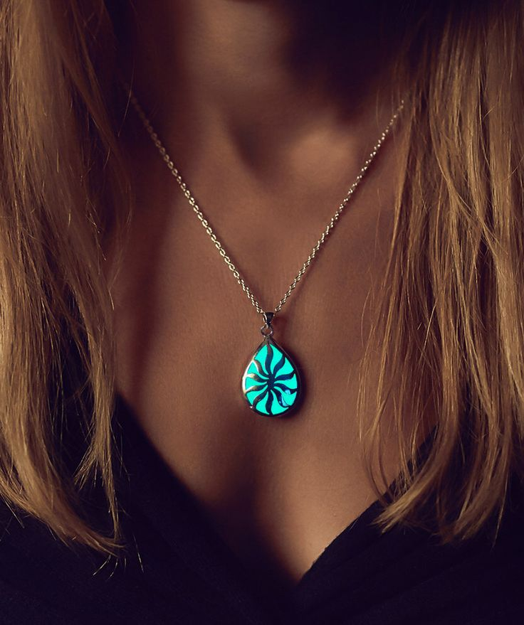 Glowing Necklace - Glow in the Dark Jewelry - Jewellery - Sun in your Life - Birthday Gift - Glow Necklace - Wedding Gift - Gifts for Her by EpicGlows on Etsy https://www.etsy.com/listing/209755539/glowing-necklace-glow-in-the-dark