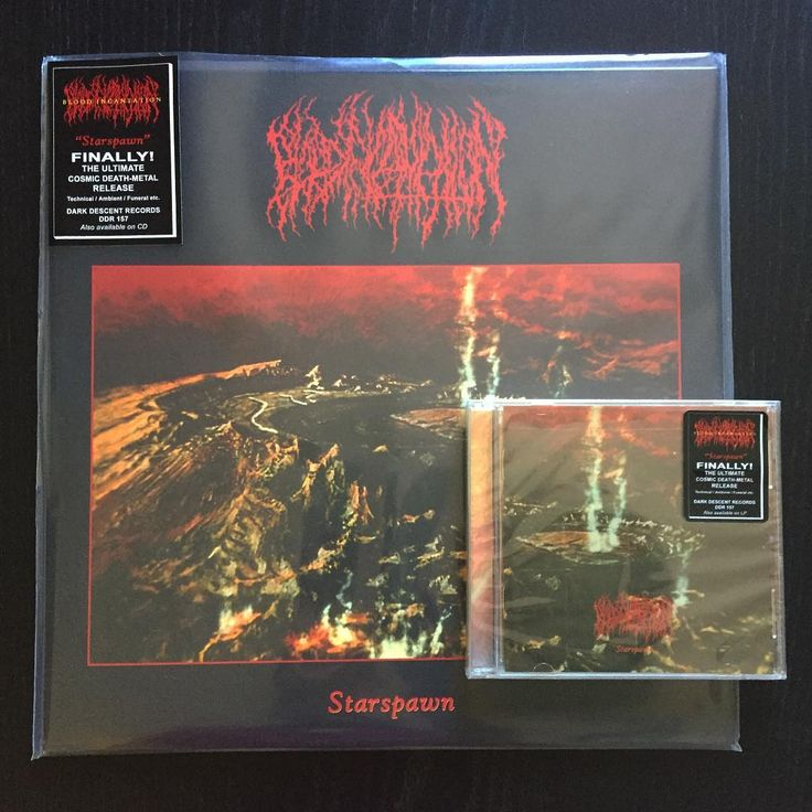 "ON SALE! Blood Incantation ""Starspawn"" (2016 Dark Descent) CD 9,90€/LP 13,90€ www.everlastingspew.com  After signing with the label prior to the August 2015 release of the Interdimensional Extinction EP, BLOOD INCANTATION returns with a 30-minute cerebral whirlwind of powerful atmospheric death metal. The intense and otherworldly technical/ambient/funeral death metal of Starspawn leaves the listener feeling transcendentally disembodied at the end of an unknown dimension.  Produced entirely…"