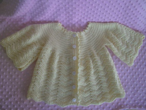 Soft Yellow Girls Sweater Size 2-4 years by lyndalou29 on Etsy, $30.00