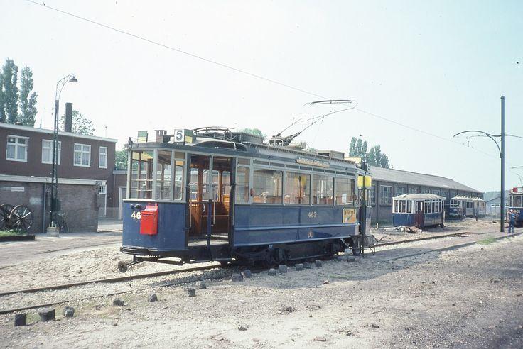 Musée des Trams d'Amsterdam (Pays-Bas)