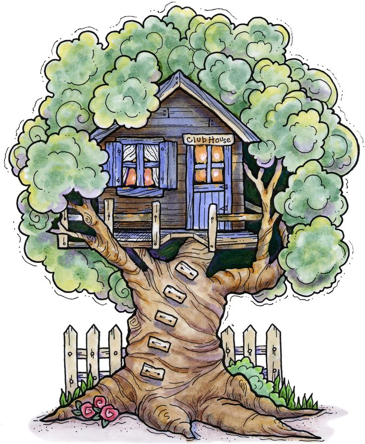 clipart pictures tree house - photo #7