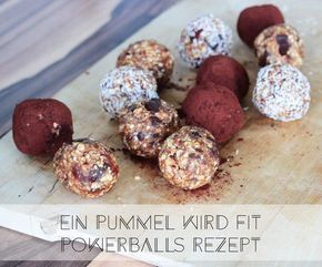Mein liebstes Powerballs Rezept - ich zeige euch, welche Zutaten ihr für den gesunden Snack zwischendurch braucht!