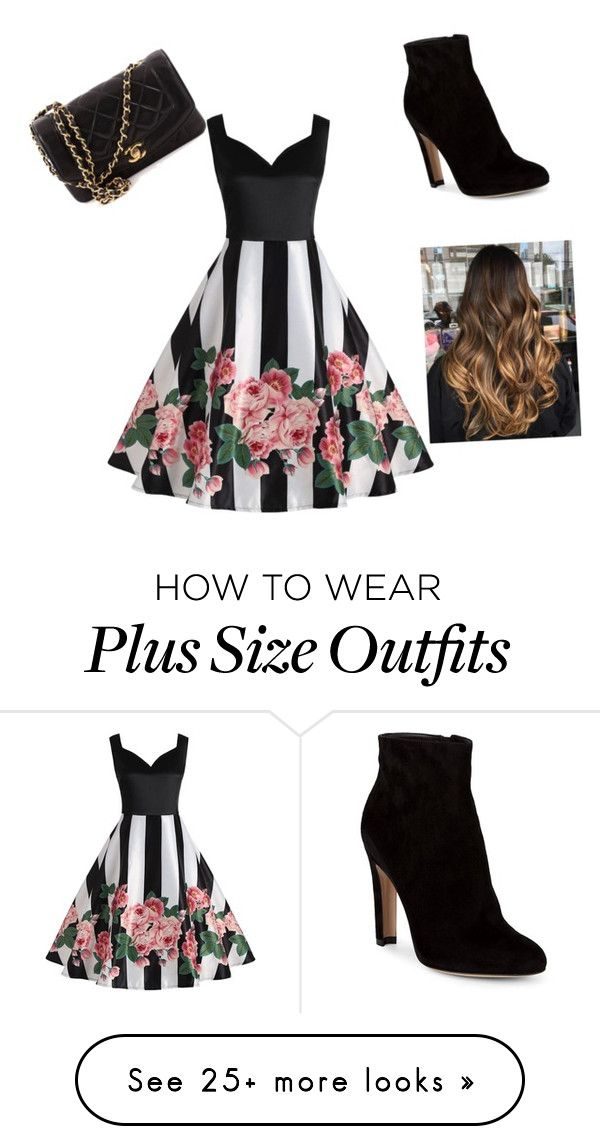 """""""im back sorry I haven't been here in a while"""" by arianna2005 on Polyvore featuring Gianvito Rossi and Chanel"""