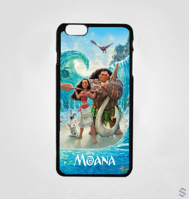 New Cheap Moana Disney Movies Print On Hard Plastic Cover Case For iPhone 7 plus #UnbrandedGeneric