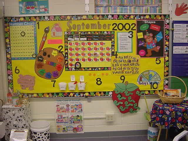 Calendar Kindergarten Zip : Kindergarten interactive calendar bulletin boards