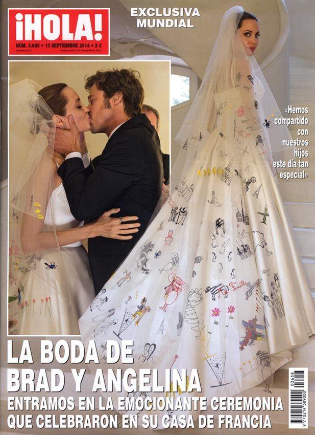 Brad y Angelina cumplen su primer aniversario de boda, así son las citas más románticas de la pareja - Foto 1
