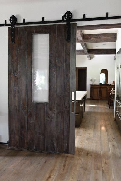 Barn door w/ window; Culligan Abraham