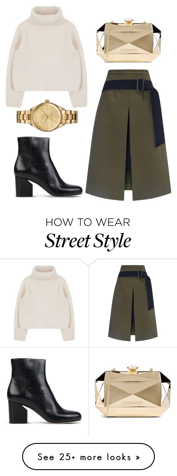 """254"" by fishbowlplacebo on Polyvore featuring EUDON CHOI, Maison Margiela, Lacoste and Love Moschino"