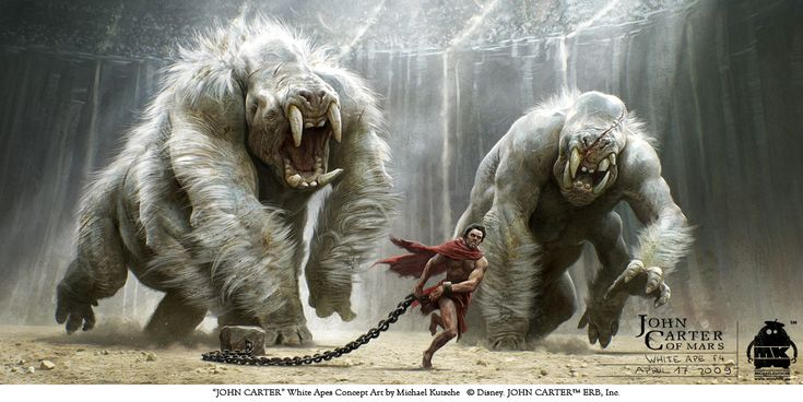 The Ceatures of 'John Carter' In Michael Kutsche's Brilliant Concept Art