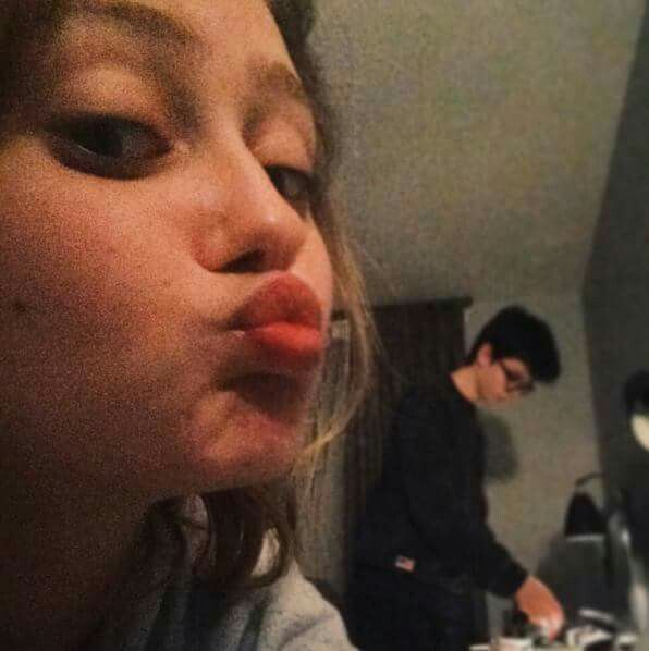 Ella Purnell and Asa Butterfield