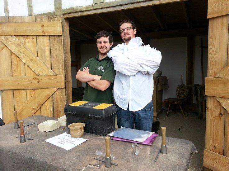 Jonny & Chris, the stone carvers