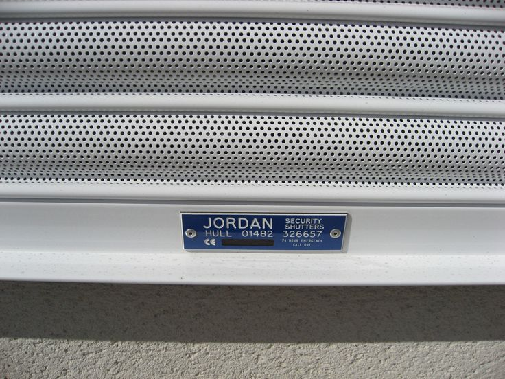 Our Perforated Shutter lath.