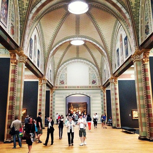 Rijksmuseum in Amsterdam, Noord-Holland
