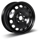 4 NEW 16X65 5x100 BLACK STEEL WHEEL +42 WHEELS RIMS