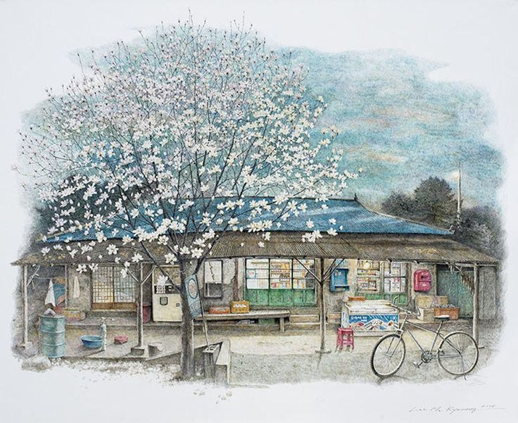 Delighful convenience stores in south korea anime