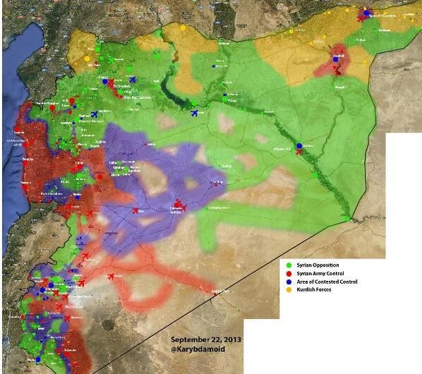 A new map update by @Karybdamoid #Syria