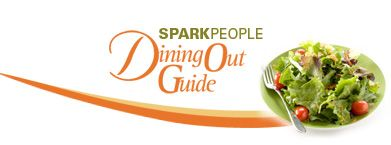 SparkPeople - Dining Out Guide  This is a great site to use when you want to eat out but not blow your diet.